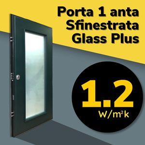 porta blindata certificata finestrata