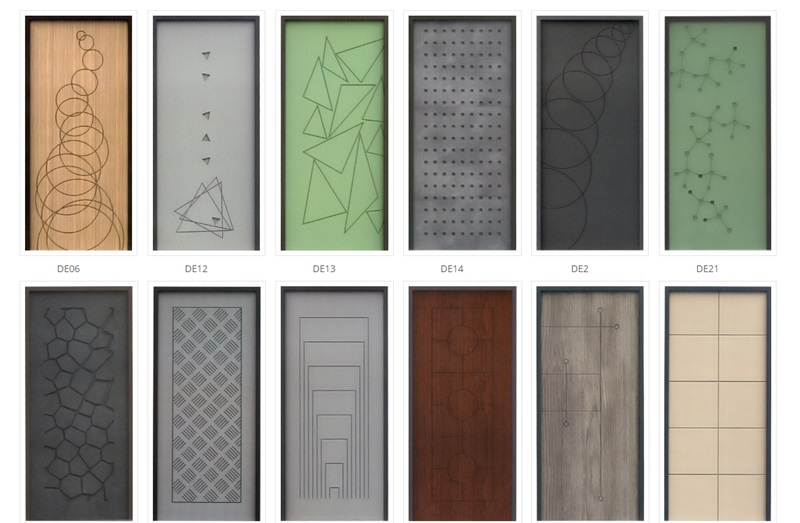 pannelli di rivestimento per porte blindate