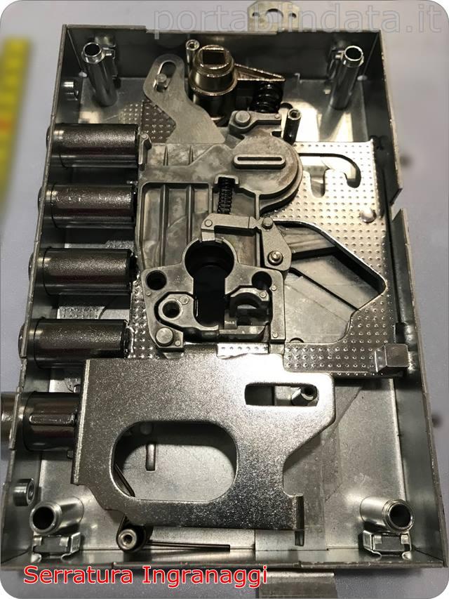 serrature a cilindro europeo con trappola ingranaggi Iseo
