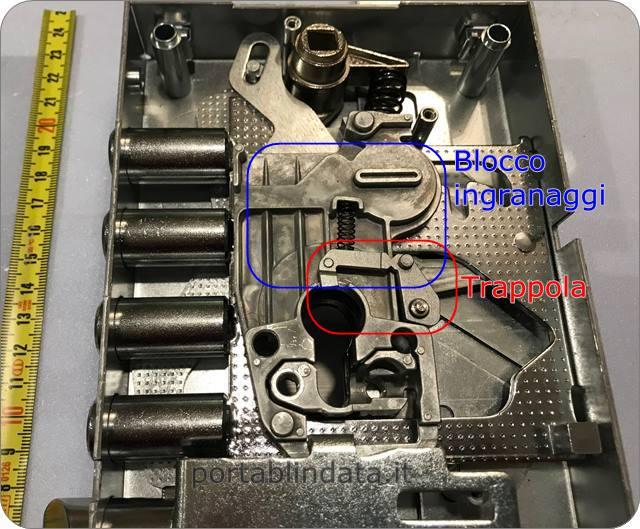 serrature a cilindro europeo con trappola ingranaggi