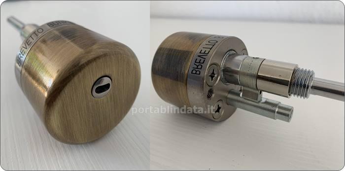 defender serratura ciperre