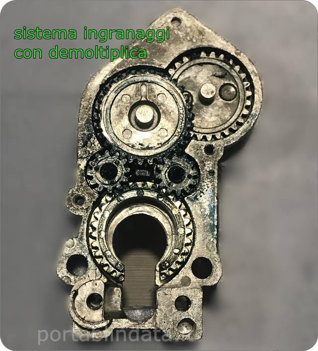 serrature a cilindro europeo con trappola ingranaggi Moia